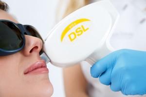 Diode laser ontharen
